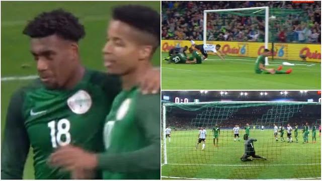 Impressive Super Eagles defeats Argentina in tough friendly game
