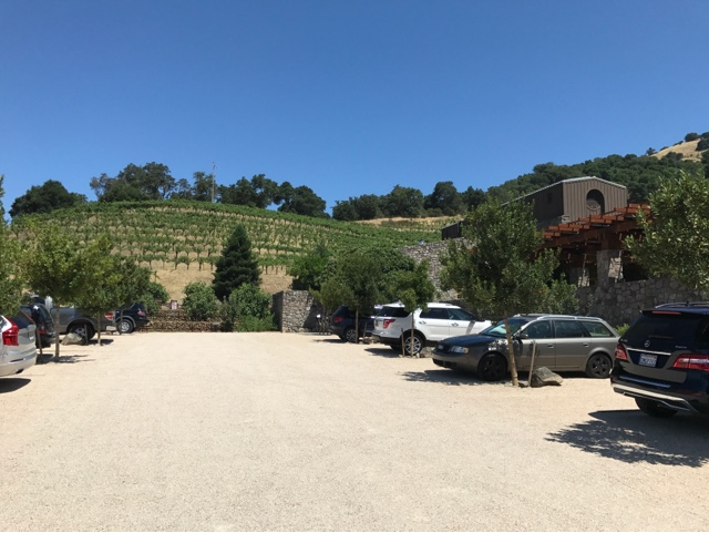 Robert Sinskey Vineyards Exterior/Parking Lot