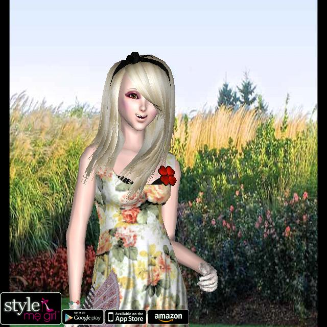 Style Me Girl Level 25 - Floral - Sarah