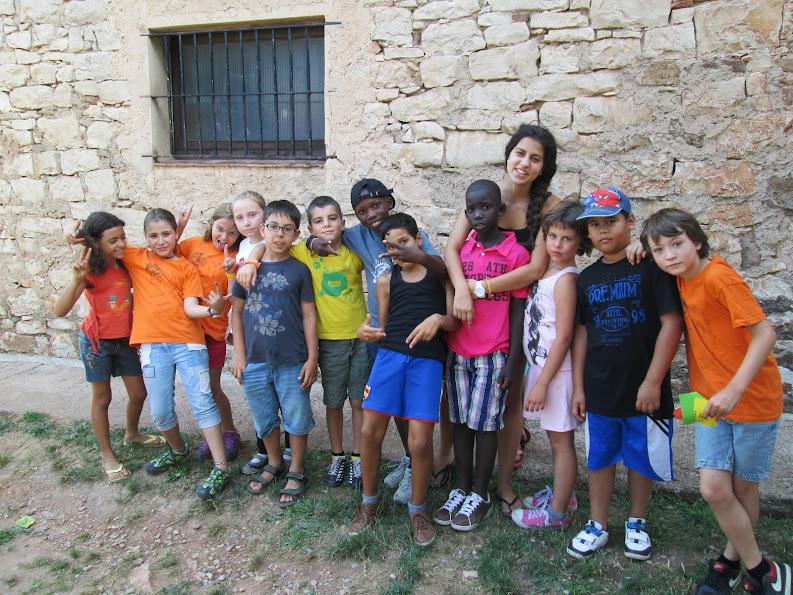 Colònies d'estiu de l'Associació Educativa Can Palet de Terrassa a Mas Saiol.