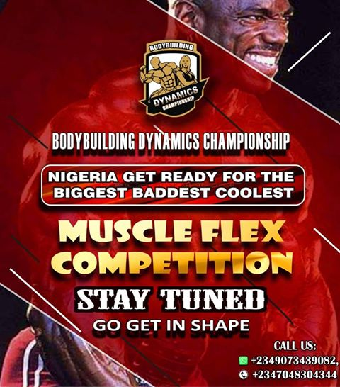 SD news blog, BODY BUILDING DYNAMIC CHAMPIONSHIP (BDC)  MAIDEN EDITION HOLDS IN NIGERIA, events in nigeria,
