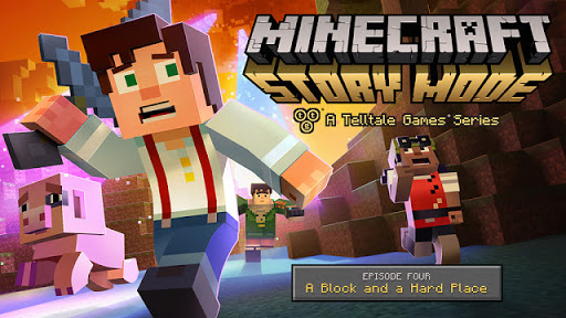 Minecraft Story Mode A TellTale Games Series Episode 4 'Wither Storm Finale' A Block and A Hard Place TRAILER+RELEASE DATE