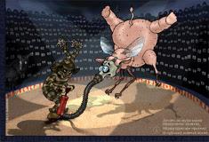 лаконизмы, японские танки русской сборки, хайга, урус-хайбун, хайку, клоун, делать из мухи слона,