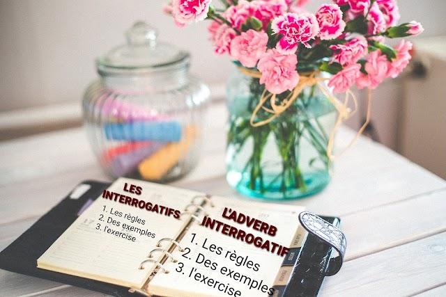 L'interrogatif et les adverbs interrogatifs ( interrogation and interrogative words)