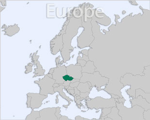 Czech Republic location map