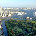 gorgeous view of Tokyo Bay in Shinagawa, Tokyo, Japan