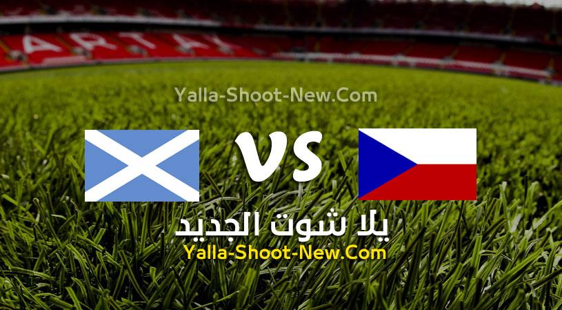 مباراة اسكوتلندا وجمهورية التشيك