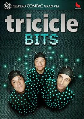 Tricicle vuelve a la Gran Vía con 'Bits'