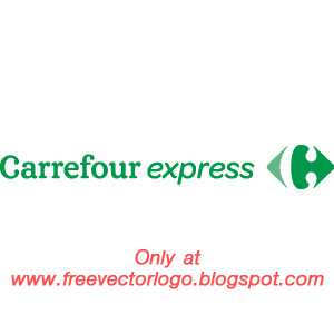 Carrefour express logo vector