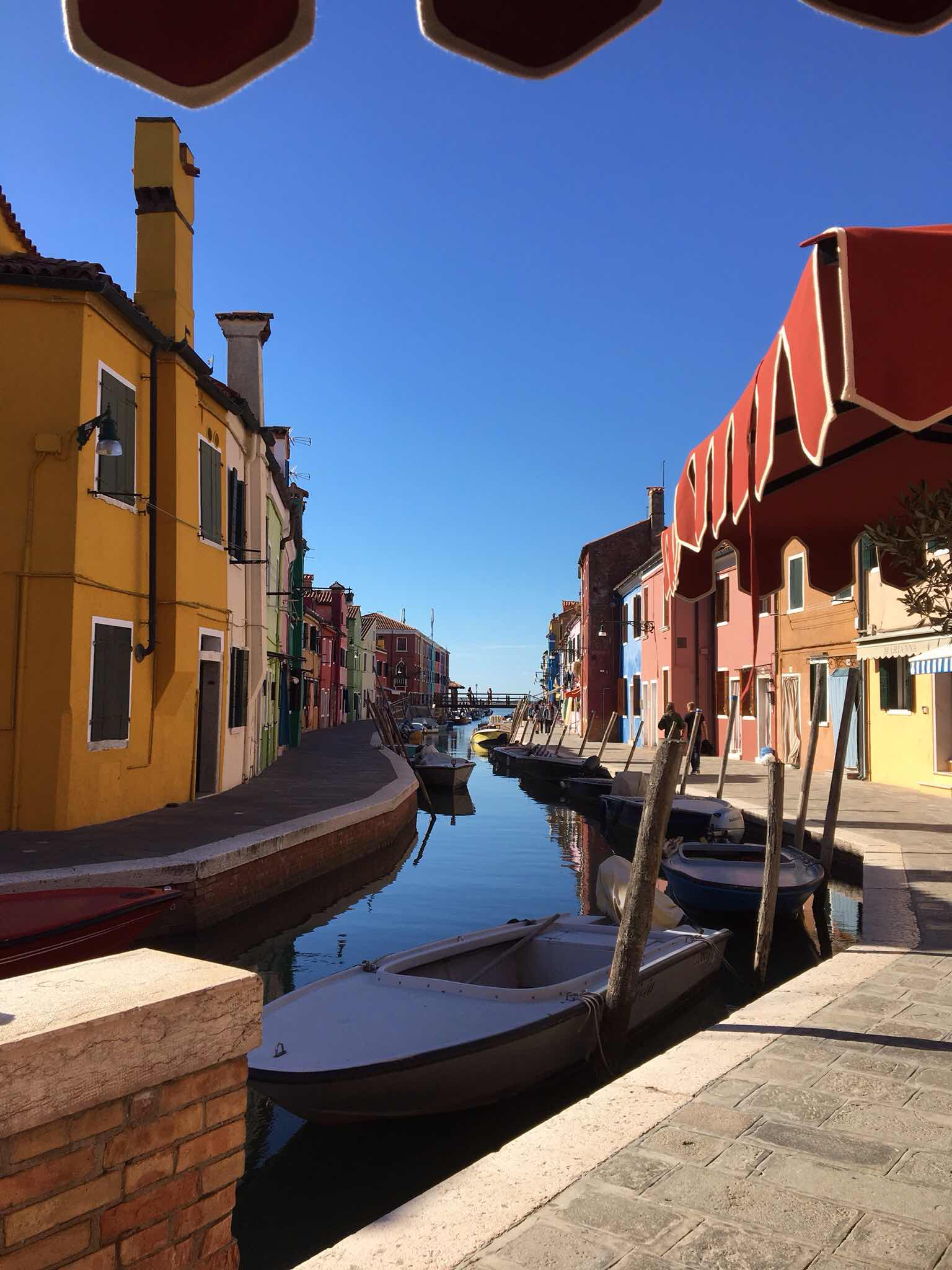 Lovely quiet Burano with its colourful houses