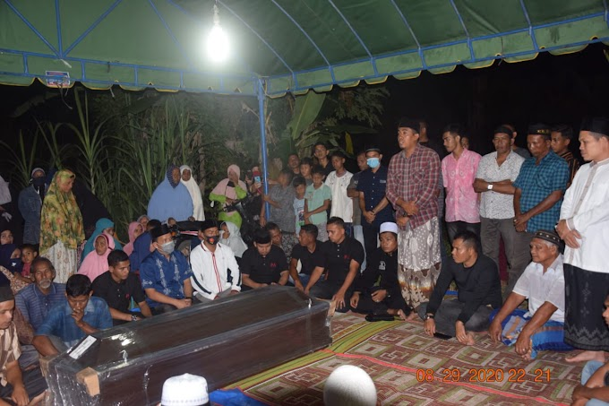 PAS Bantu Pemulangan Jenazah Alm M.Nahwani, Kades dan Keluarga Ucapkan Terima Kasih