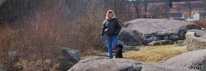 Maggie and Betty Gettysburg 07102014