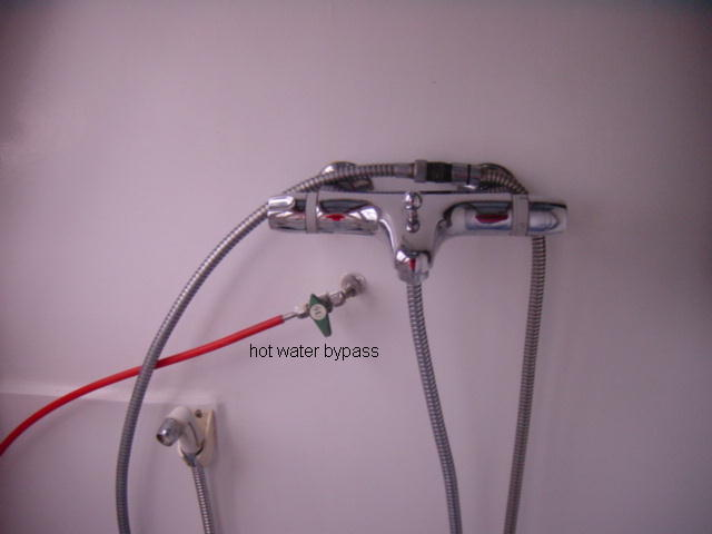 bathroommix tap with bypass