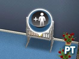 The Sims FreePlay baby crib