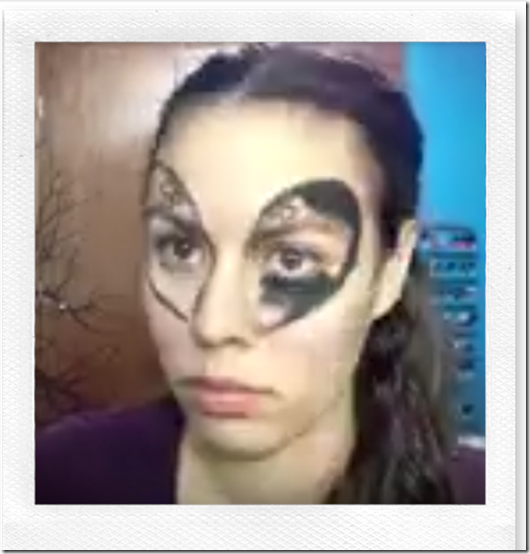 maquillaje alien