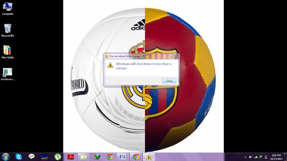 shutdown PC