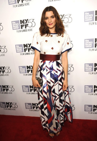 Rachel Weisz 53rd New York Film Festival Martian