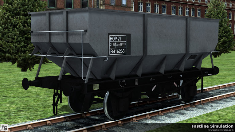 Fastline Simulation: dia. 1/146 rebodied HTO 21T coal hopper