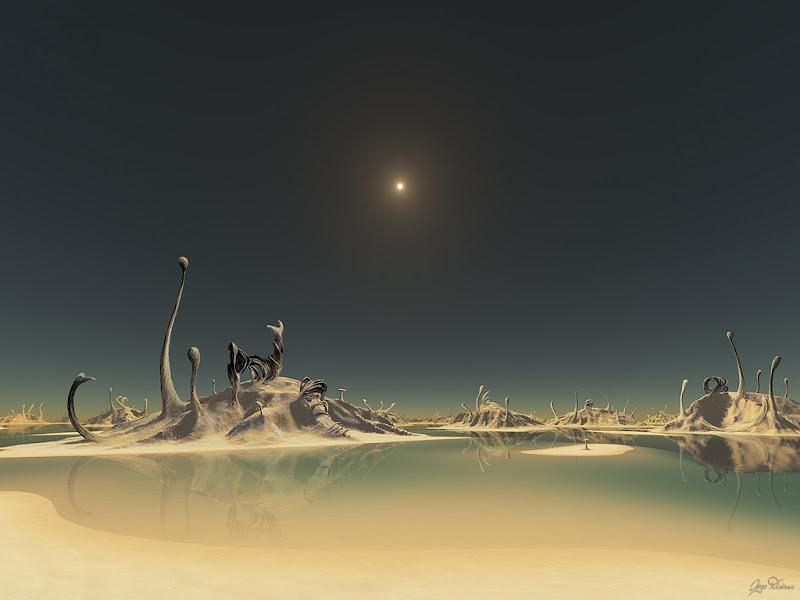 Desert Of The Distant Star, Fiction 1