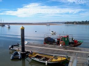 Fishing dock, Alvor