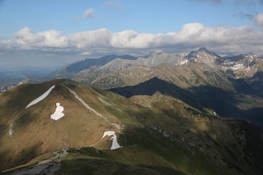 Hrebeň Červených vrchov z Małołączniaku