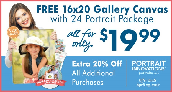 Spring Special from Portrait Innovations