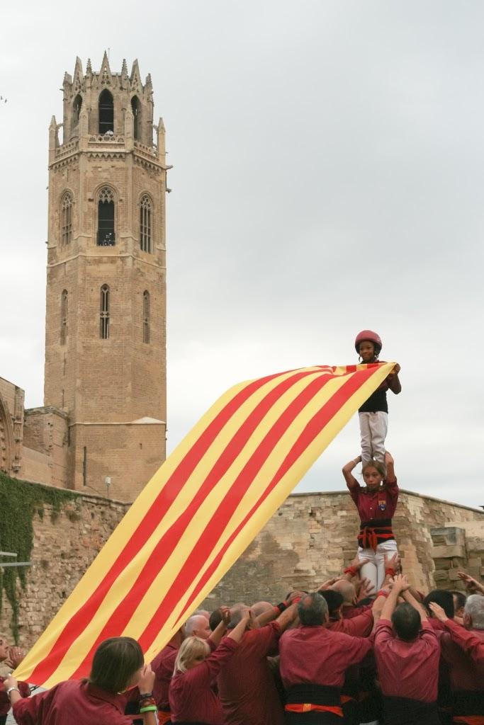 Ofrena floral Diada Nacional de Catalunya Seu Vella Lleida 11-09-2015 - 2015_09_11-Ofrena floral Seu Vella-14.JPG