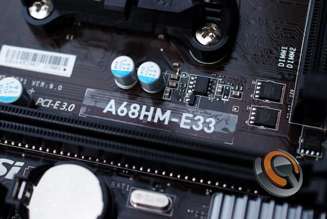 Mainboard MSI A68HM-E33, thay thế và tiên tiến hơn chipset AMD A58 - 75411