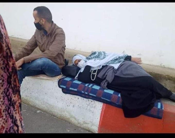 La abogada asegura que la madre del preso político saharaui Mohamed Lamin Haddi ya ha sido liberada.