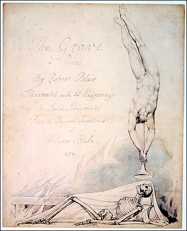Robert Blair Poem The Grave Illustration By William Blake, William Blake