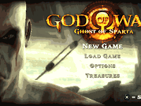 God of War - Ghost of Sparta PSP Iso Cso