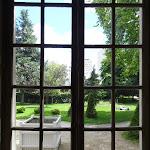 Pavillon de l'Ermitage : vue sur le parc