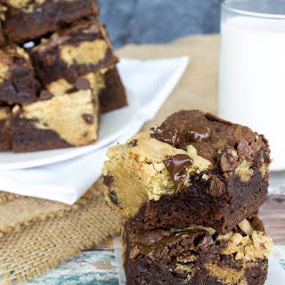 Fudgy Chocolate Chip Cookie Brownies.