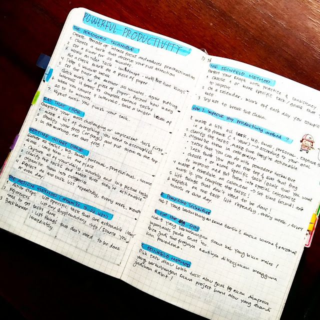 Bullet Journal Indonesia 5 productivity methods