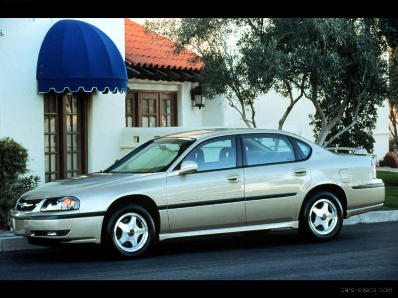 2000 Chevrolet Impala Sedan Specifications, Pictures, Prices