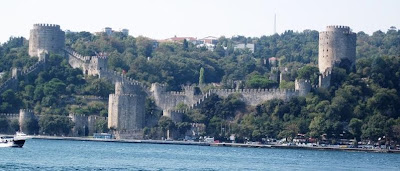 The 'Fortress of Europe', built on the Bosphorus in 1492