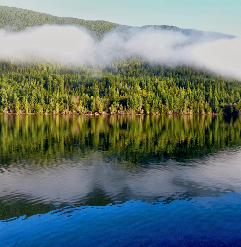 """Early Morning Lake Crescent"" by Robin Prentice -- 2nd Place Digital General B"