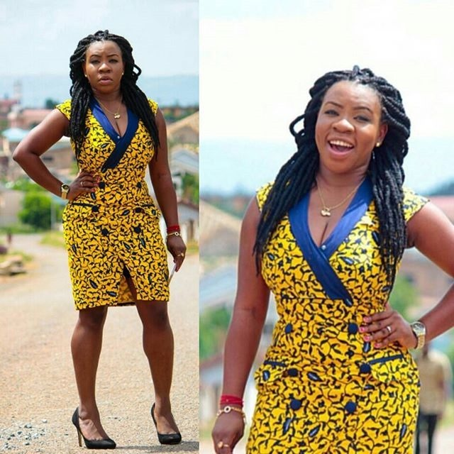new short ankara gown styles (13)