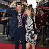 OIC - ENTSIMAGES.COM - John McCririck and Jenny McCririck at the  Dear Lupin - press night in London 3rd August 2015 Photo Mobis Photos/OIC 0203 174 1069