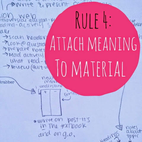 Organized charm 4 rules for effective studying for Rule of three meaning
