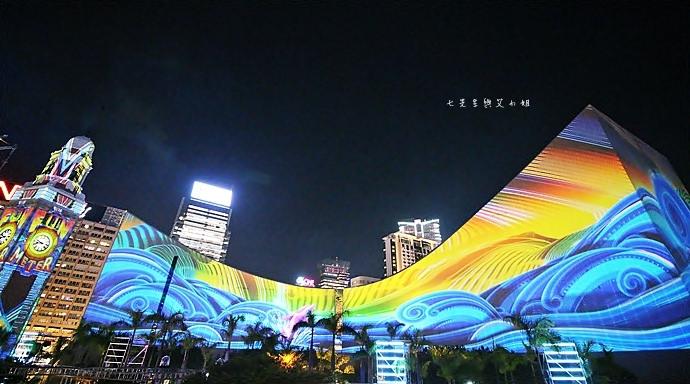 6 香港 閃躍維港 3D光雕匯演