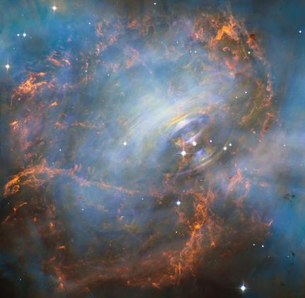 núcleo da Nebulosa do Caranguejo