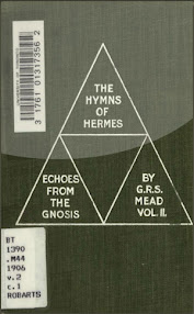 Cover of George Robert Stowe Mead's Book Echoes From The Gnosis Vol II The Hymns Of Hermes