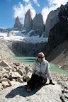 Vasilisa at Las Torres (Torres Del Paine, Chile)