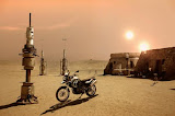 Bike In The Desert