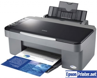 How to reset Epson CX3700 printer