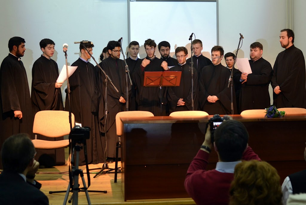 Conferinta Despre martiri cu Dan Puric, FTOUB 033