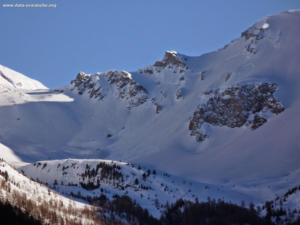 Avalanche Queyras, secteur Col du Tronchet - Photo 1 - © Jean-Baptiste Portier
