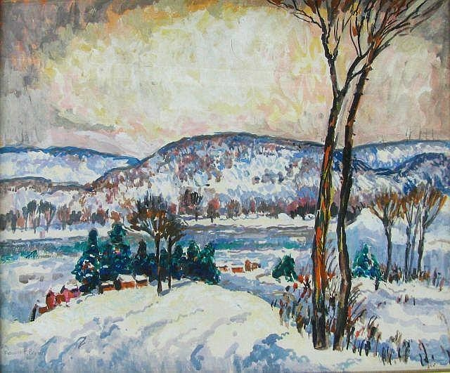 Francis Focer Brown - Winter