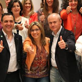 Presentación candidatos PP comarca